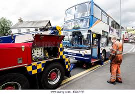 Bus towing and recovery service Dublin