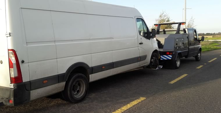 Commercial Vehicle Towing Dublin